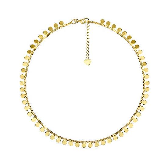 Cooper Coin Halskette Gold