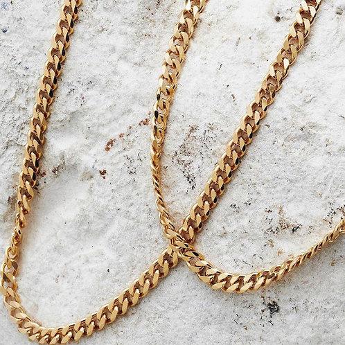 Solid Halskette Gold