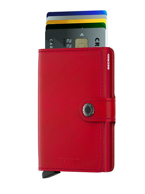 Miniwallet Original Red-Red RFID