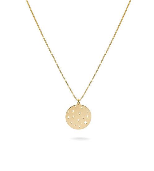 Moon Halskette Gold
