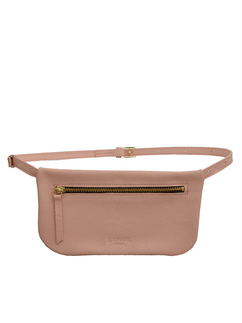 Leather Hip Bag Blush