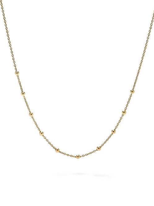 Goldene Halskette LULU