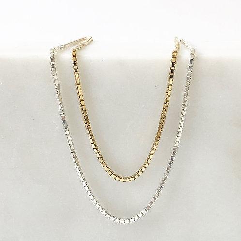 Venetian Halskette Silber