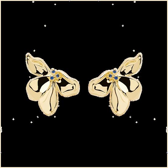 Narcise Ohrringe Gold