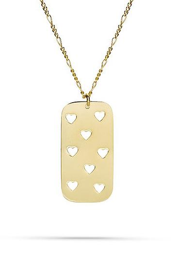 Herz Halskette Gold