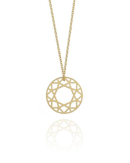 Goldene Halskette Grafik