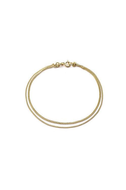 Le Double Grumetta Necklace Gold