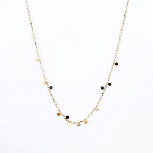 Tiny Dots Halskette Gold