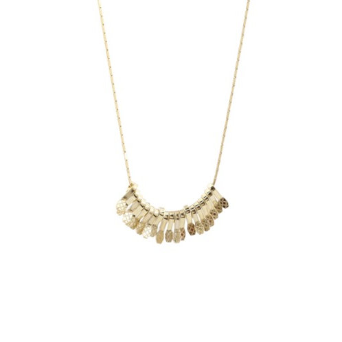Gypsy necklace gold