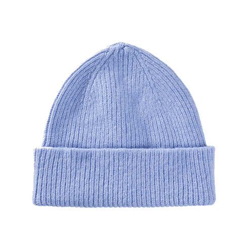 Lambswool Beanie Light Blue Sky
