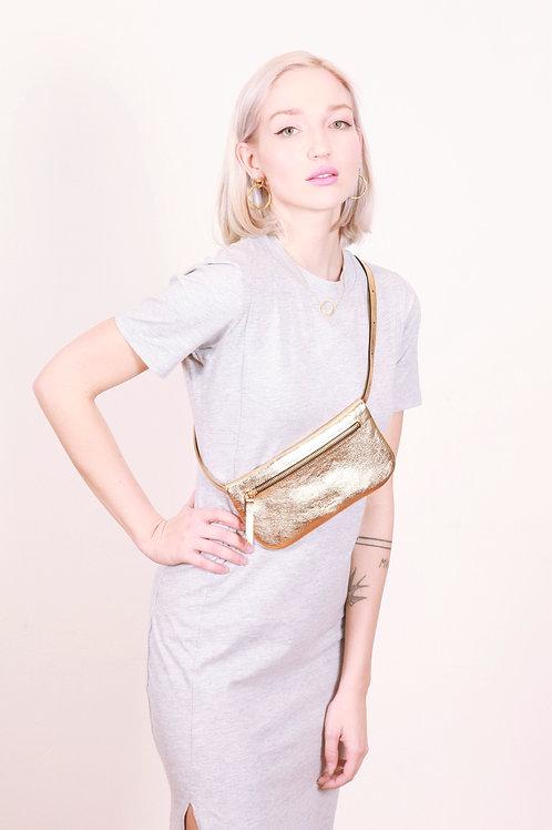 BUM BAG Gold