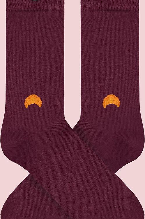 Socken aus Biobaumwolle Croissant MOLLY