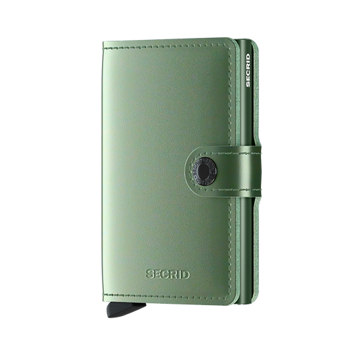 Miniwallet Metallic Green RFID