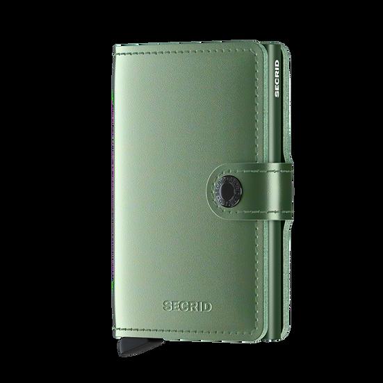 Miniwallet Metallic Green RFID