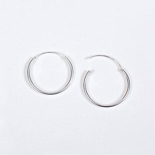 Mini Hoops Silber