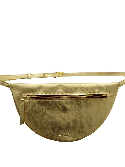 MOON HIP BAG XL Gold