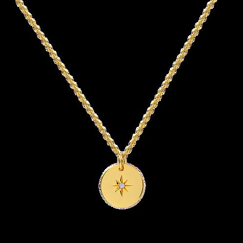 Shootingstar Halskette Gold