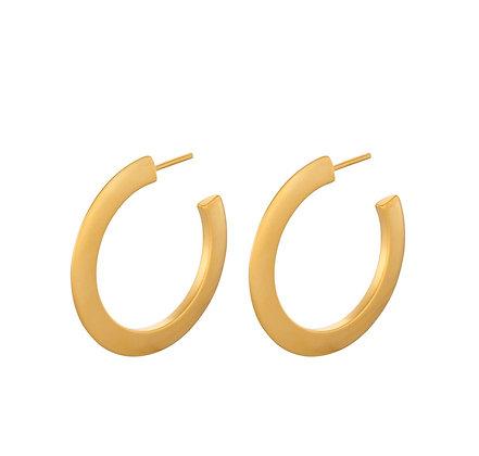 Small New York Hoop earrings Gold