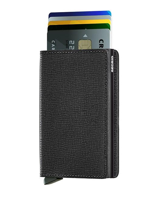 Slimwallet Crisple Black RFID