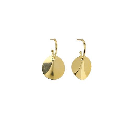 Kleine ONDE Ohrringe Gold
