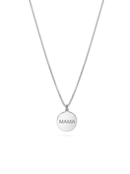MAMA Halskette Silber