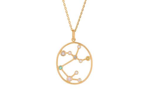 Sternzeichen Halskette Gold Schütze
