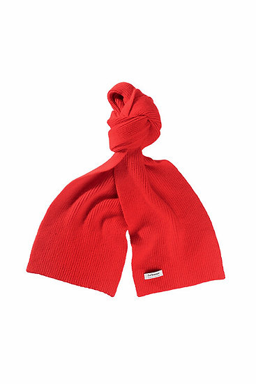 Lambswool Schal Crimson