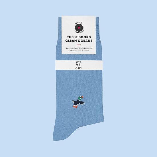 Socken aus Biobaumwolle Vogel STEF