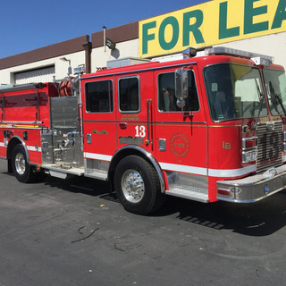 Long Beach Fire Engine
