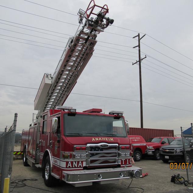 Anaheim Fire Engine