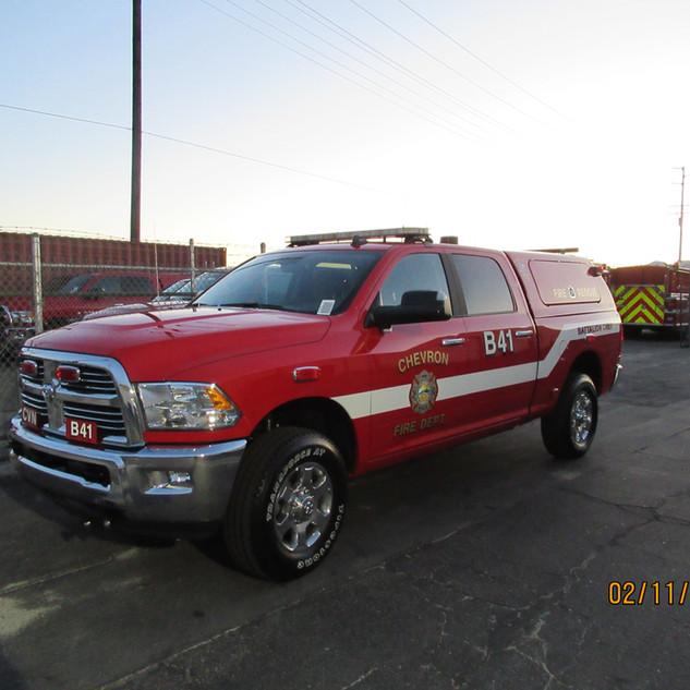 Cheveron Fire Command Truck