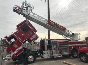 Anaheim Fire Department Truck
