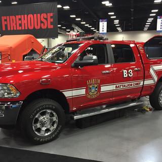 Anaheim Fire Truck