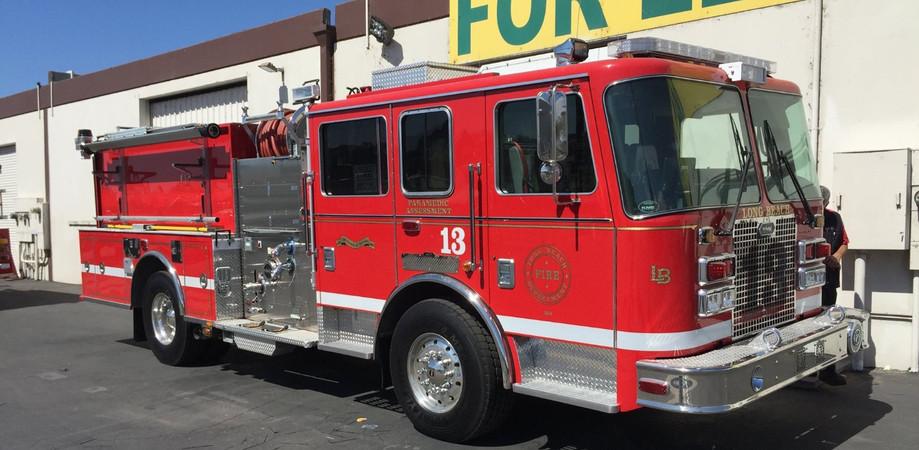 Long Beach Fire Engine
