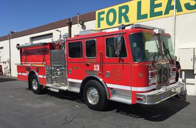 Long Beach Fire Department Truck