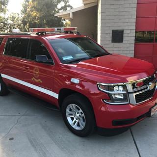 Long Beach Fire Command Vehicle