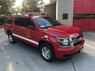 Long Beach Fire Department Command Truck