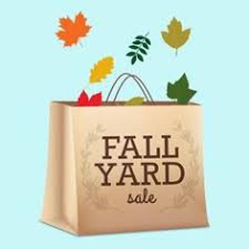 Fall Town Wide Yard Sale
