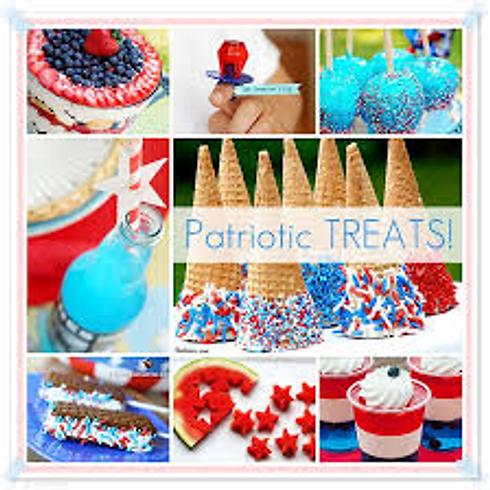 Patriotic No Bake Treats - All Ages