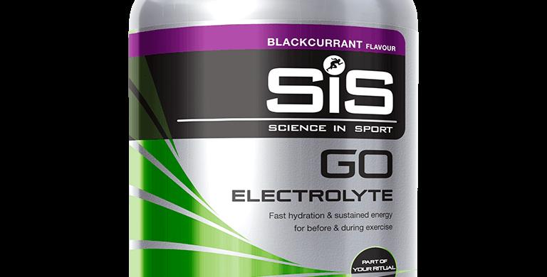 SiS GO Electrolyte 1,6 kg - zwarte bessen