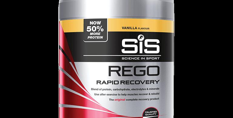 SiS REGO Rapid Recovery 1,6 kg - banaan