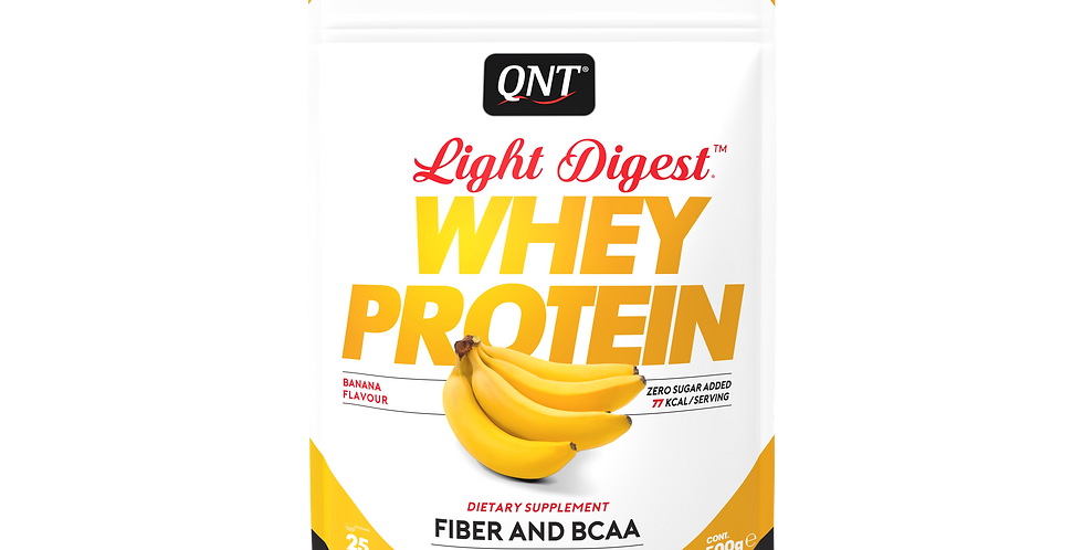 QNT Whey Protein Light Digest 500g - banaan