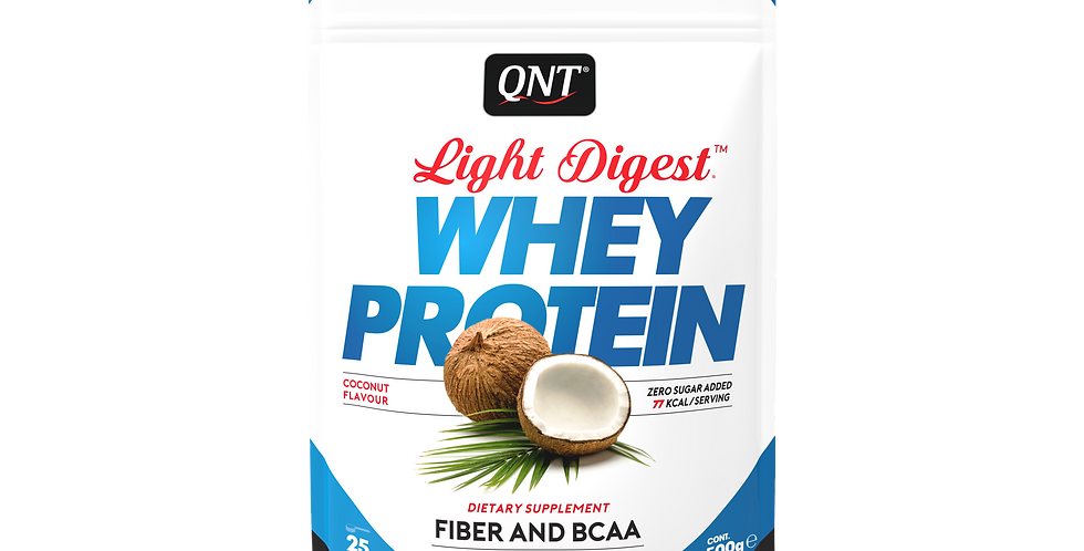QNT Whey Protein Light Digest 500g - kokos