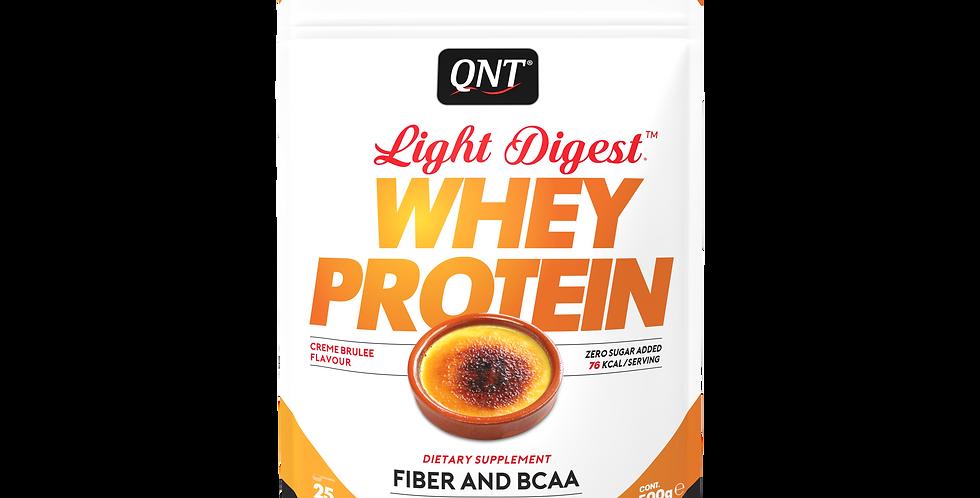 QNT Whey Protein Light Digest 500g - crème brulée