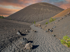 Volcanic Ash Trail to Cinder Cone