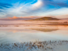 Dawn Over Sonoma Baylands