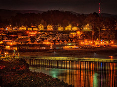 Holiday Night View Capitola