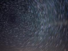 Star Trails over O'Neill Forebay