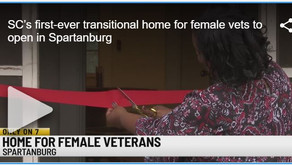 SC's first-ever transitional home for female vets to open in Spartanburg