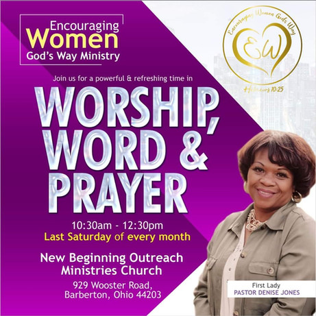 Encouraging Women God's Way Ministry
